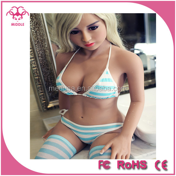 140cm CE ROHS close <strong>eyes</strong> small breasts sex doll flat chest adult silicone sex doll