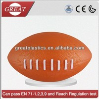 Mini inflatable rugby ball for sport