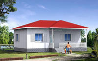 light weight 2014 new model prefabricated villa