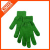 100% Acrylic magic knitted gloves for winter ,one sizes fits all