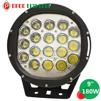 "Top New High Power 180W Led Driving Light, 4x4 ATV UTV 9"" 180W Led Driving Light"