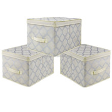 Household item non woven fabric Organizer Storage box