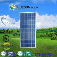 poly 120w 130w 140w 150w 160w solar pv panels/modules