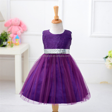 Latest beautiful children frocks designs ruffle wedding dresses for girls of 10 years old