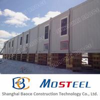 high quality china prefabricated homes for mining workers in SA