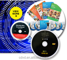 multi workout dvd cd printing and package services
