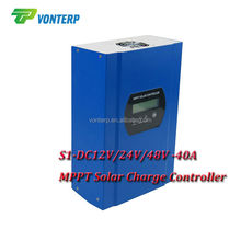 S1 MPPT Solar Charge Controller DC 12V 24V 48V automatic recognition 40A 50A 60A optional