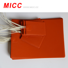 Top Quality Various Design Flexible Silicone Rubber Heater Pad Heating Element
