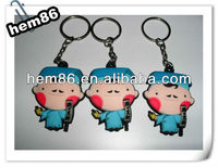 original rubber keyring