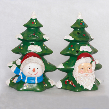 Customized resin christmas tree ornaments