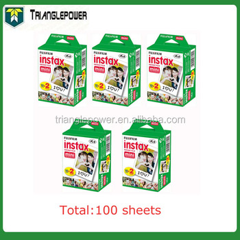 Alibaba co uk 20 fogli twin pack fujifilm instax mini 8 film