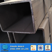 steel square hollow section steel pipe 100*300 rectangular thick wall metal tube