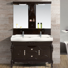 Wholesale Goods From China Thin Bathroom Vanities Cheap Double Bowls Bathroom Vanities