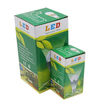 Hot sale custom printed paper led bulb packaging box in Shenzhen China