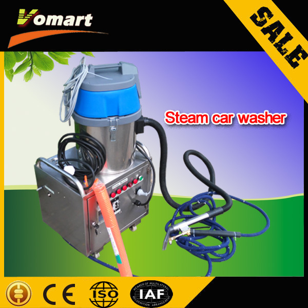 2015 CE 6KW mobile steam car wash machine electric dry vapor steam cleaner