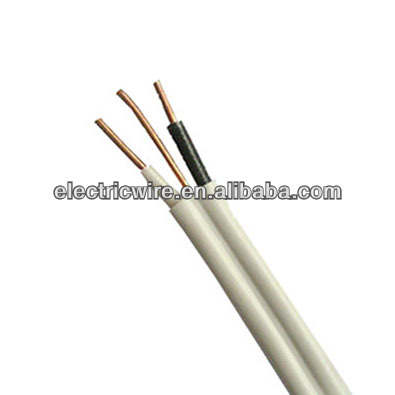 PVC double insulated electric cable twin and earth