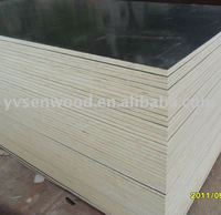 Laminated film faced plywood mdf hdf board