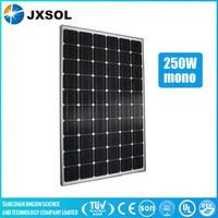 good quality 250w monocrystalline solar panels new and beautiful solar shingles with full certificate