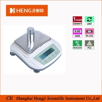 built-in reachargeable full tare precise electronic balance