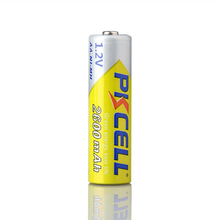 PKCELL Brand rechargeable battery 1.2v Nickel Metal Hydride battery AA2600mah in stock for sale