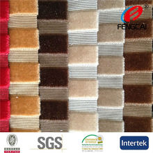 China Manufacturer produced new design stripe knit fabric for sofa