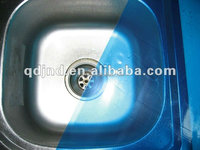 Stainless steel pe film ,Blue