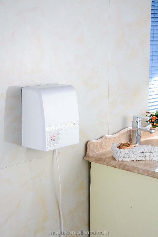 white abs plastic Auto jet dryer manufacture Automatic hand dryer