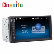 DASAITA 7 inch touch screen 2 din universal car stereo auto radio stereo dvd player with Bluetooth WIFI 4G