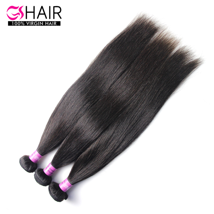 Peruvian Virgin Hair Straight grade 7A human hair <strong>weave</strong> 8 to 34inch 3bundles/lot DHL free shipping one donor hair extensions