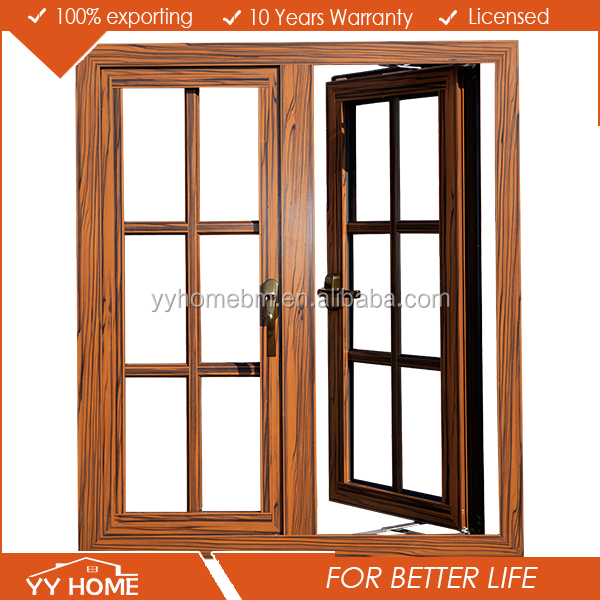YY HOME new latest aluminium french window grill design