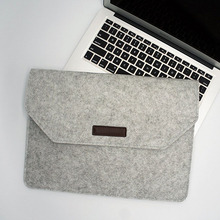 Wholesale travel notebook bag custom eco-friendly polyester felt computer case