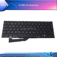 "Perfect Quality New15.4"" French Keyboard for MacBook Pro Retina A1398 Fr French Keyboard with Backlight"