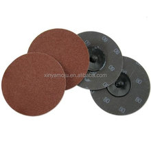 "3"" x 80 Grit Sanding roll on Discs Quick Change 10pc/Bag"