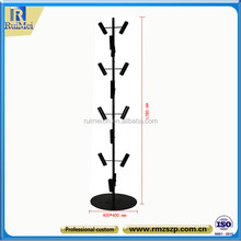 Customized Rotating Black Balloon Tree Display Stand Metal Display stand