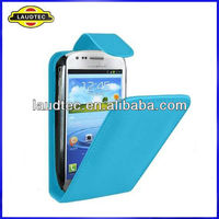 Flip leather case for Samsung Galaxy S3 mini i8190,Leather flip case cover,more colors available----Laudtec