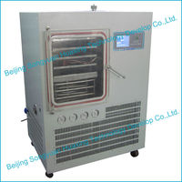 Vacuum Freeze Dry Equipment / Food Drying Lyophilizer