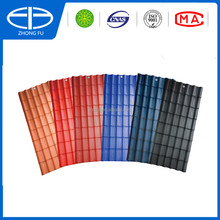 hot product, no more asphalt tile price, roofing for warehouses for villa pvc roof tile asa roof sheet