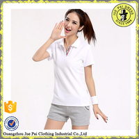 New design slim fit ladies polo shirt,factuory price