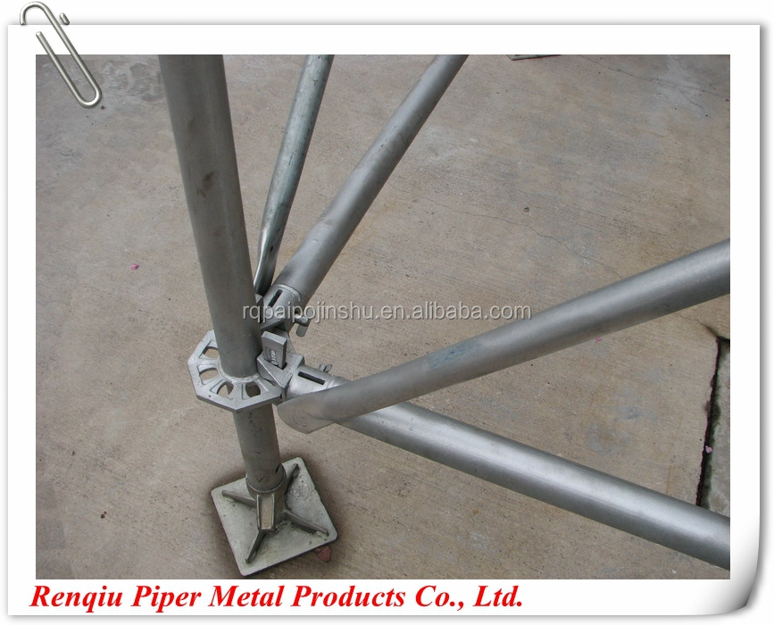 Hebei Factory Best Scaffold Prices Ring Lock For Sale