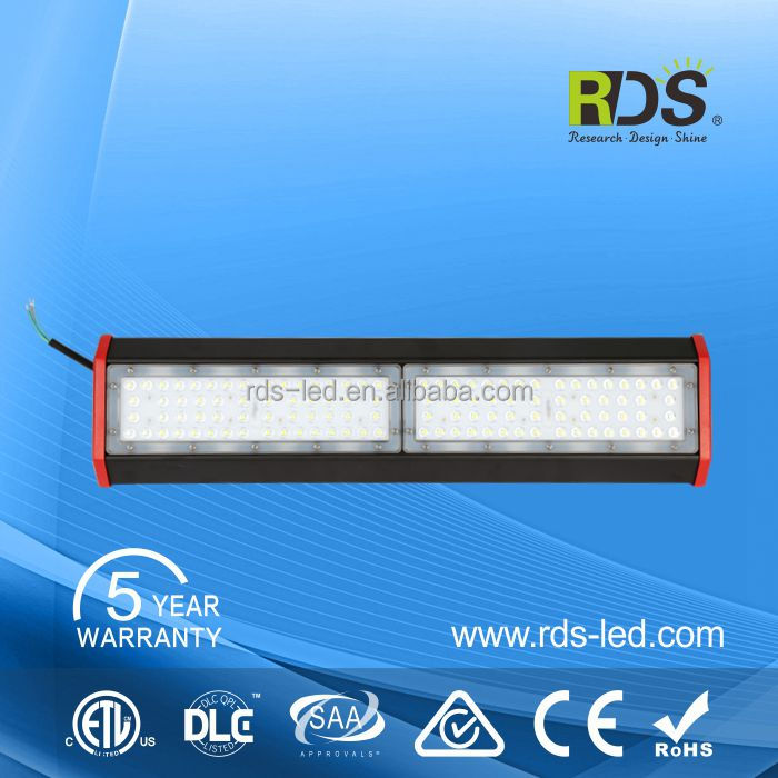 Best heat dissipation AC 277V 200w linear high bay led lighting