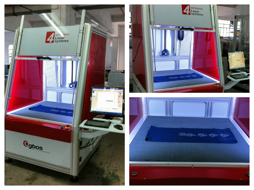 Eco friendly galvo laser printing machine for t shirt for Laser printing machine for t shirts