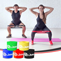 "12"" X 2"" (Xlight, Light, Medium, Heavy, Xheavy) Set Of 5 Loop 100% Natural Latex Fitness Exercise Resistance Bands"