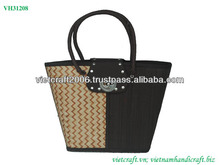 Fashion bamboo bag with lock