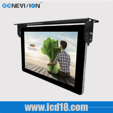 Taxi,bus vedio player 19 inch wireless hd totem led shelf mounted android wifi 3g motion tft lcd monitor ad player