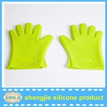 Silicone Protection Cooking Gloves Cooking Hot Gloves, Grill Gloves