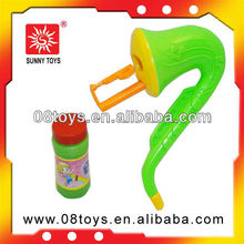 Funy plastic soap bubble toy