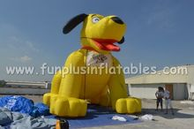 inflatable advertising dog cold air balloon cheap price P4113