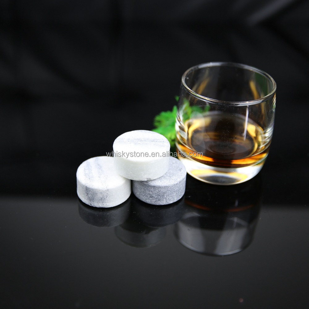 Whiskey ice round stone, whiskey disk