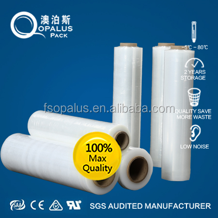 High quality plastic pe stretch wap film China manufacture