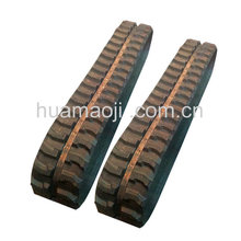 Construction Machinery Parts 230x96x35 kubota u15 mini excavator undercarriage rubber track with good price